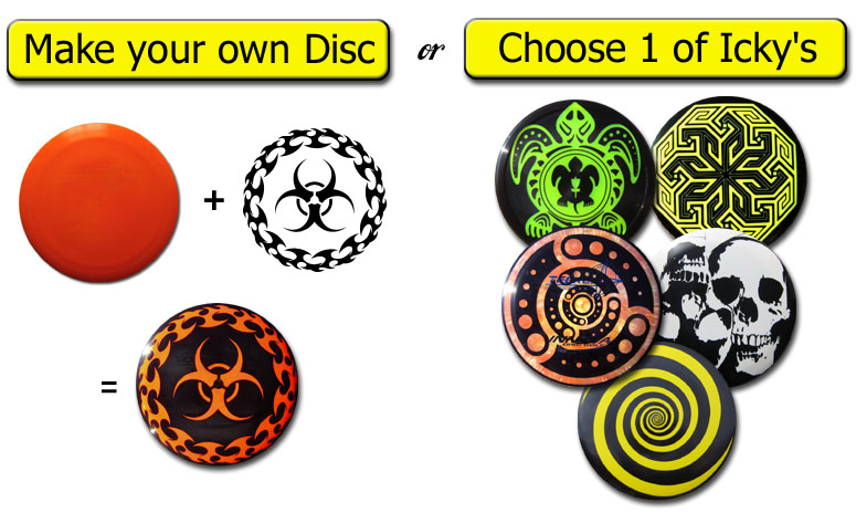 Choose your golf disc!
