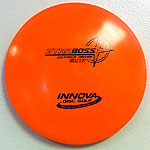 Star Boss 175g Orange - Black and Purple stamp