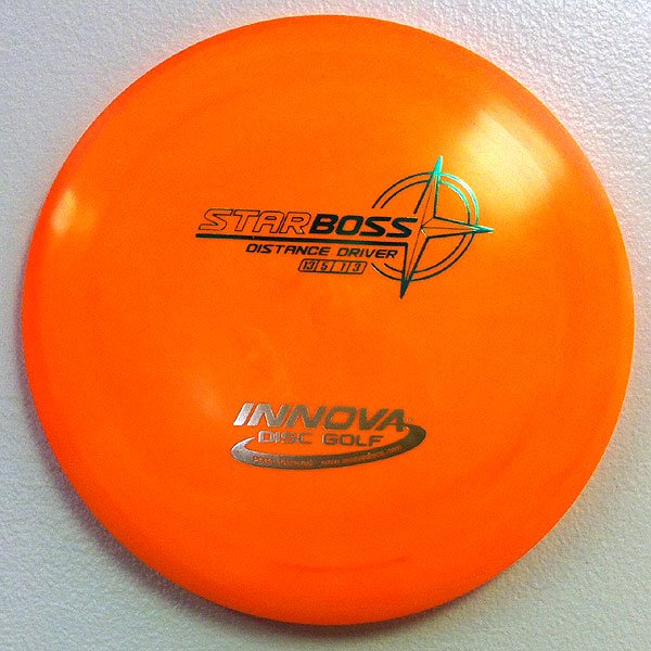 Star Boss 175g Orange - Green and Gold stamp