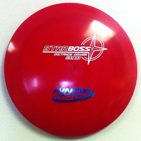 Star Boss 175g Red