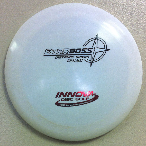 Star Boss 175g White - Black and Red stamp
